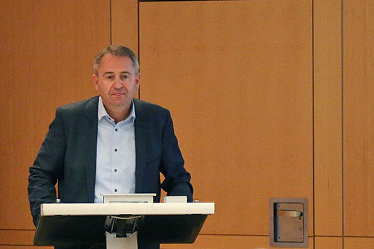 Ministerialrat Rüdiger Alfery: Finanzierung der Alterssicherung muss generationengerecht und nachhaltig sein.