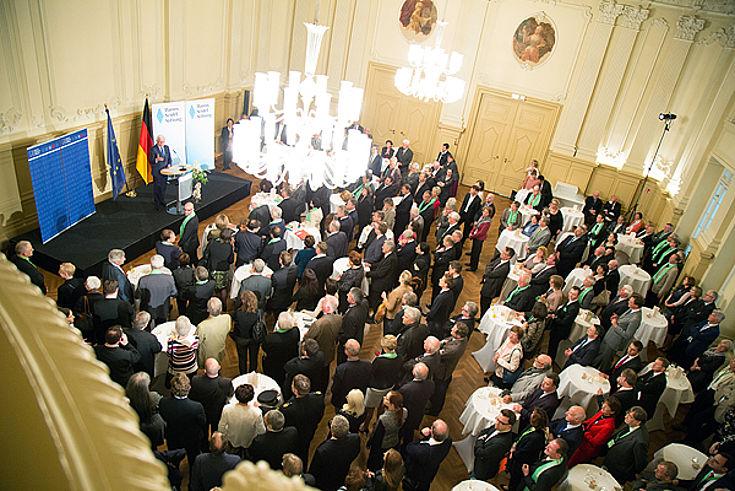 Über 400 Gäste fanden den Weg in die Salles de Pologne
