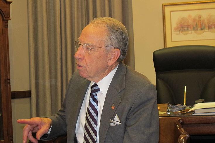 Republikanischer Senator Chuck Grassley