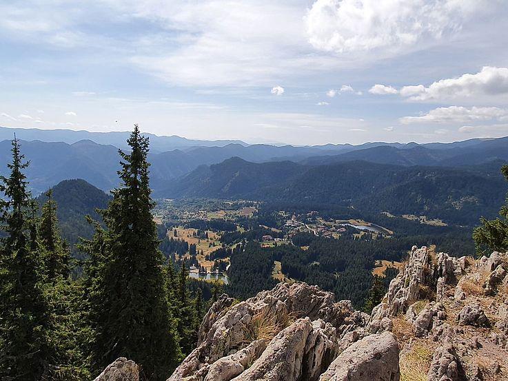Bergidylle in Pamporovo in der bulgarisch-griechischen Grenzregion