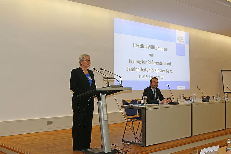 Stefanie von Winning, Leiterin des Instituts für politische Bildung der Hanns-Seidel-Stiftung