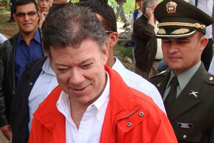 Juan Manuel Santos, Präsident von Kolumbien