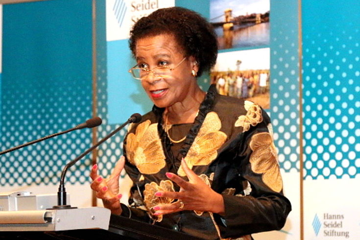 Mamphela Ramphele, ehemalige Direktorin der Weltbank