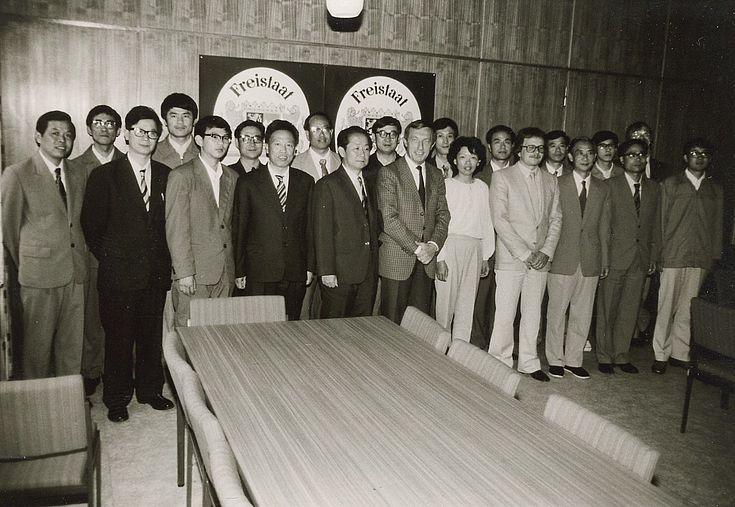 Förderung der ersten Auslandsstipendiaten aus China 1981