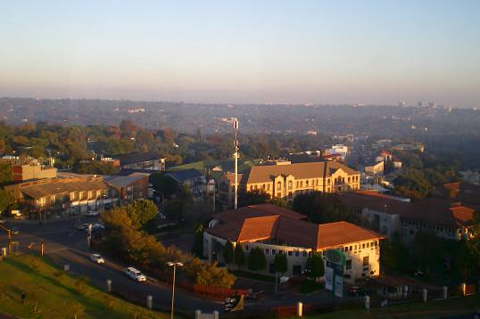Blick auf Johannesburg (Südafrika)