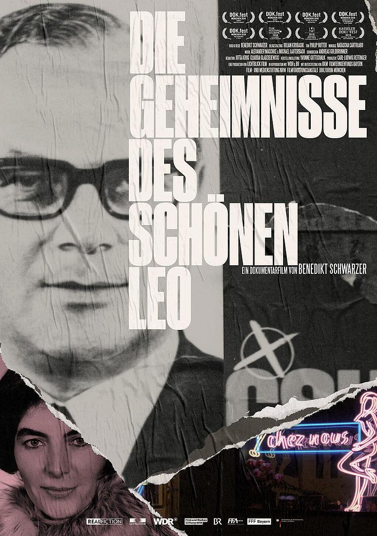 """""""Die Geheinisse des schönen Leo"""" Filmplakat"""