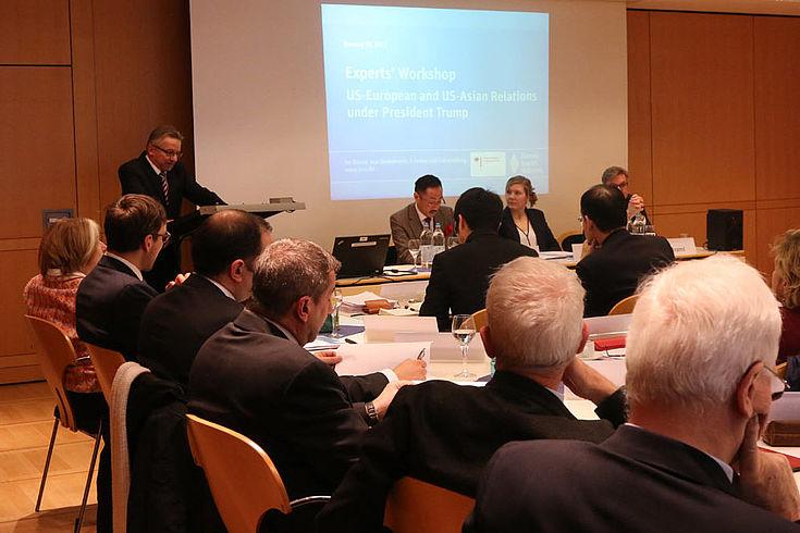 Präsident der Bundesakademie für Sicherheitspolitik, Karl-Heinz Kamp