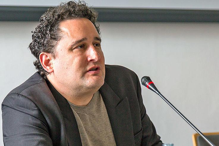 """PD Dr. Oliver Hidalgo sprach zum Thema """"Religion in der (säkularen) Demokratie – Wahlverwandtschaft oder Fremdkörper?"""""""
