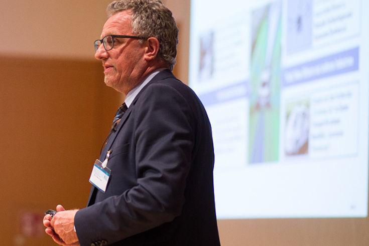 Werner Huber, Leiter Forschungsgruppe Fahrerassistenz und Perzeption/Hochautomatisiertes Fahren bei der BMW Group