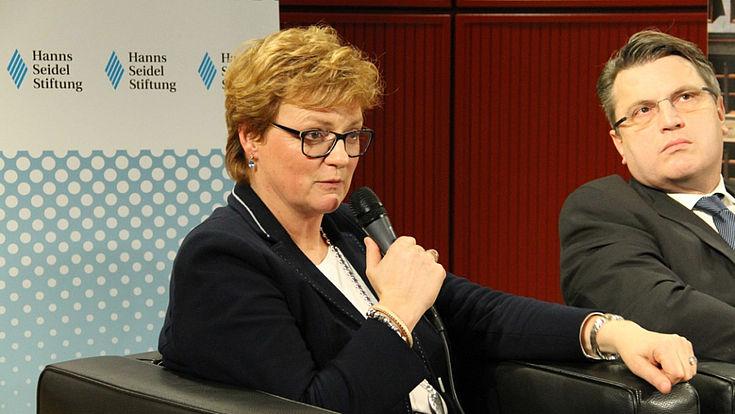"""Monika Hohlmeier: """"Wille zur Kooperation unter den Mitgliedstaaten hat zugenommen."""""""