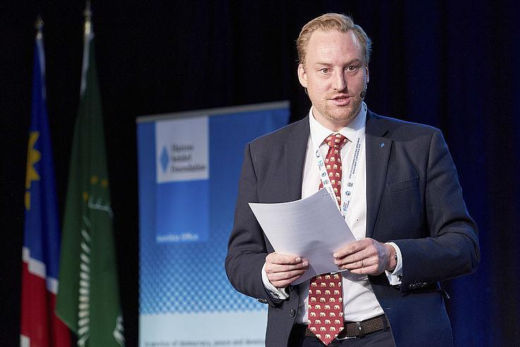 Dr. Clemens von Doderer, Repräsentant der HSS in Namibia
