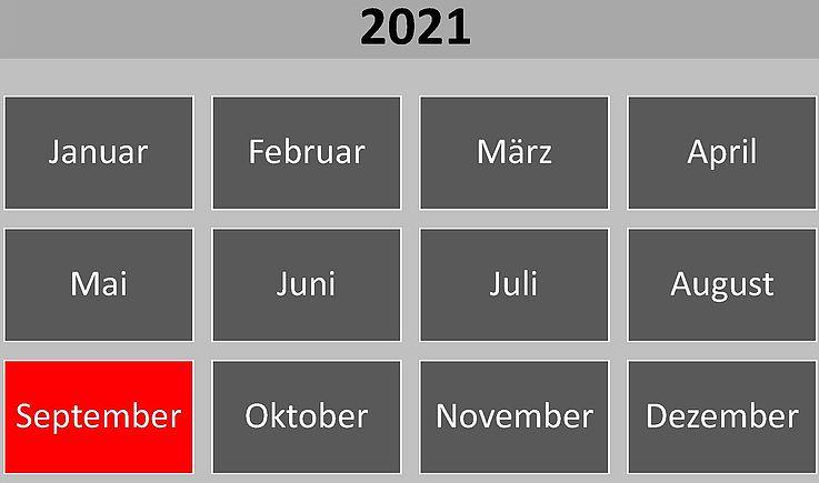 Historische Ereignisse im September 2021