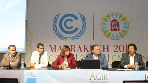 Side Event der Projekte Jordanien únd Marokko beim Weltklimagipfel COP 22