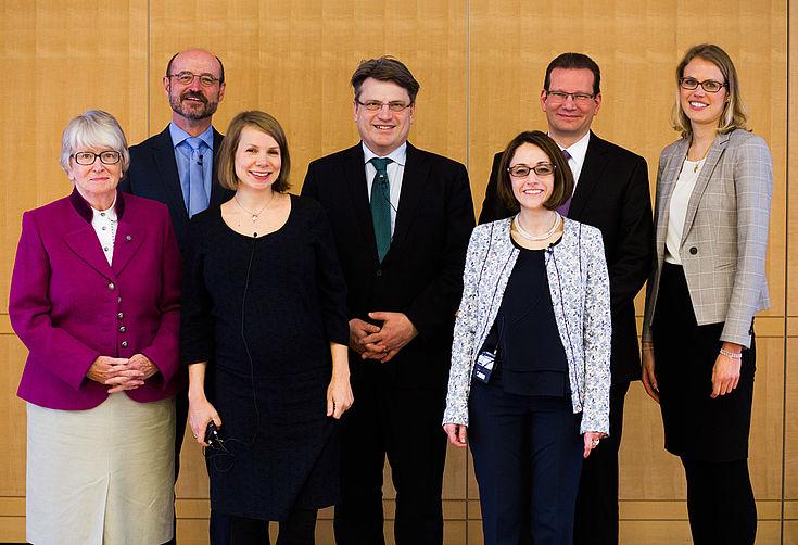 Hildegund Holzheid, Matthias Rohe, Helene Bubrowski, Winfried Bausback, Nazan Simsek, Frank Michael Heller