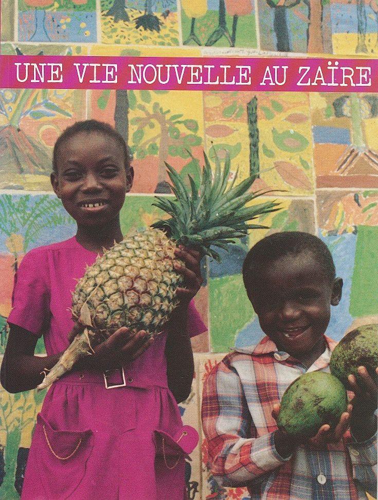 Informationsbroschüre über die Projektarbeit in Zaire 1979