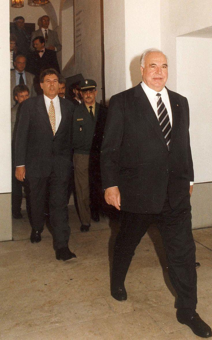 Immer einen Schritt voraus: Helmut Kohl vor seiner Wahlniederlage 1998 in Kloster Banz