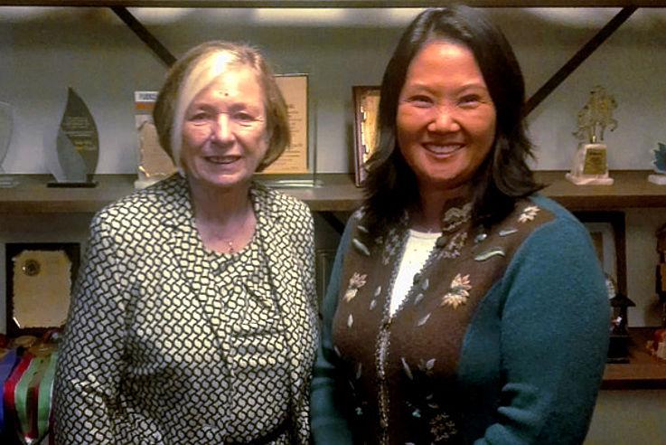 Gespräch mit Keiko Fujimori