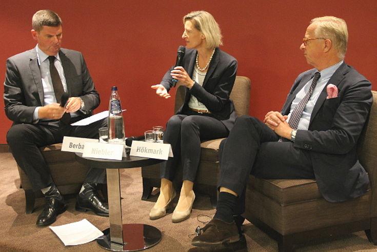Ottmar Berbalk, Angelika Niebler und Gunnar Hökmark