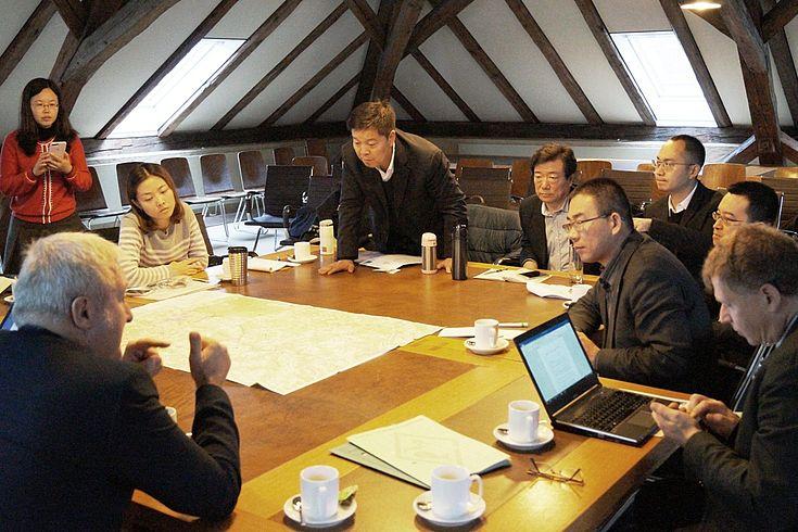 Ideen für strukturschwache ländliche Räume gesucht - Experten aus China informieren sich im direkten Austausch vor Ort