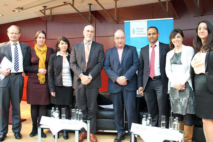 Organisatoren und Redner der Konferenz