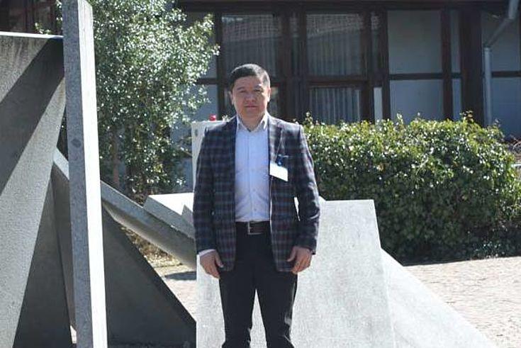 Arman Iskakov, stellvertretender Bürgermeister der Stadt Ust-Kamenogorsk in Kasachstan.