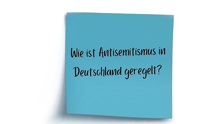 Definition Antisemitismus