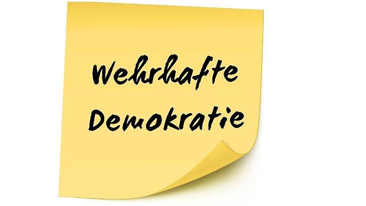 Definition Wehrhafte Demokratie