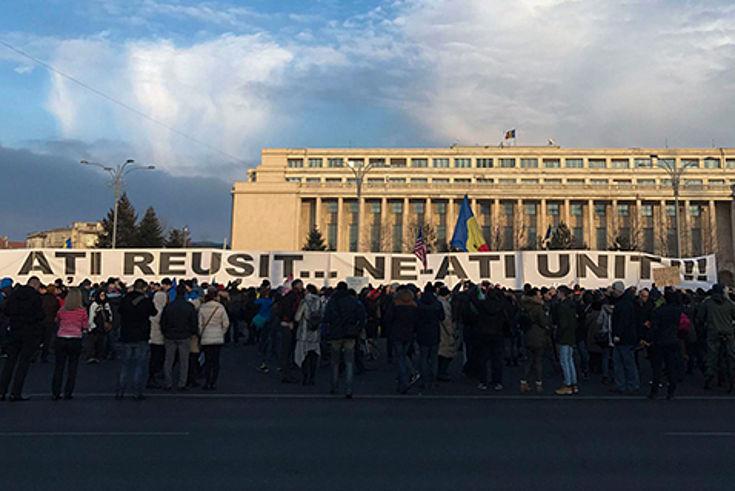 Der Versuch, das Antikorruptionsgesetz zu lockern, führte zu Protesten der Bevölkerung