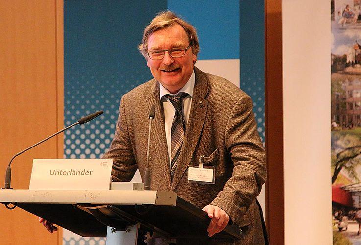 Joachim Unterländer, CSU, Vorsitzender des Landeskomitees der Katholiken in Bayern