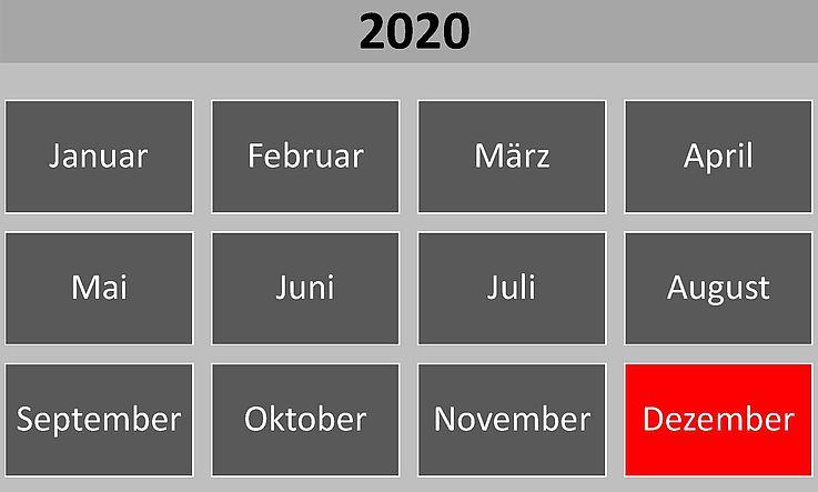 Historische Ereignisse im Dezember 2020
