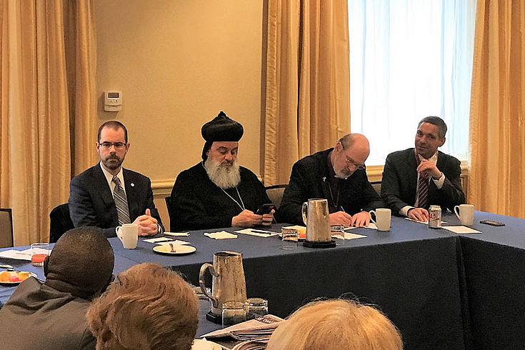 Patriarch Ignatius Aphrem II. plädiert für Schutzzonen für religiöse Minderheiten in Syrien und dem Irak. Dazu sind eine funktionale Armee und staatliche Strukturen jedoch unabdingbar.