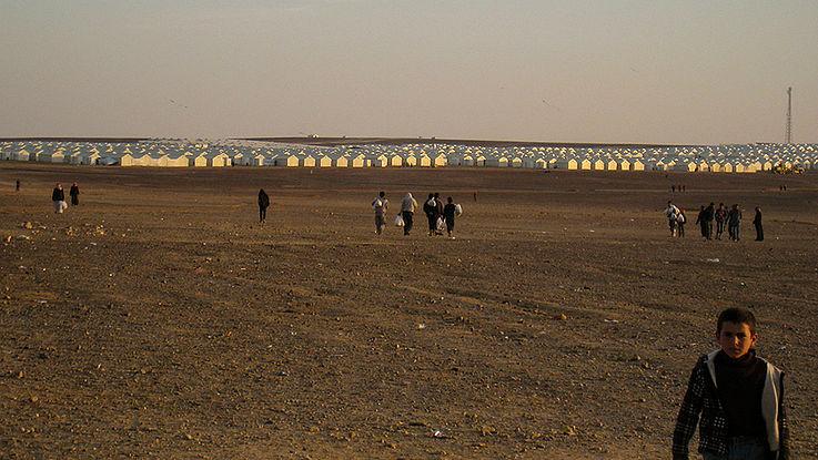 Flüchtlingslager Azraq