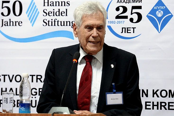 Bundesminister a.D. Michael Glos