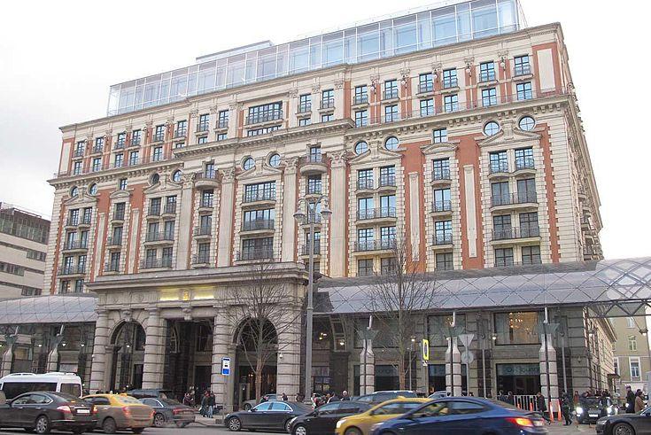 Moskau: Im prominenten Ritz-Carlton trafen sich die bayerischen und russischen Delegationen.