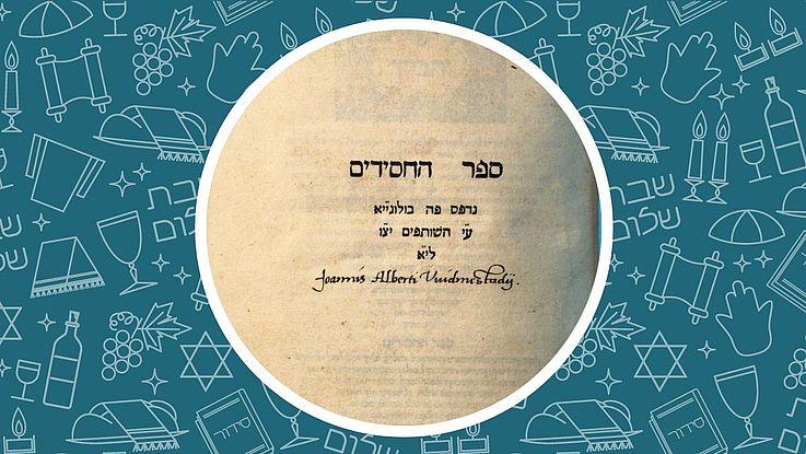 Gesichter unseres Landes: Rabbi Juda der Fromme