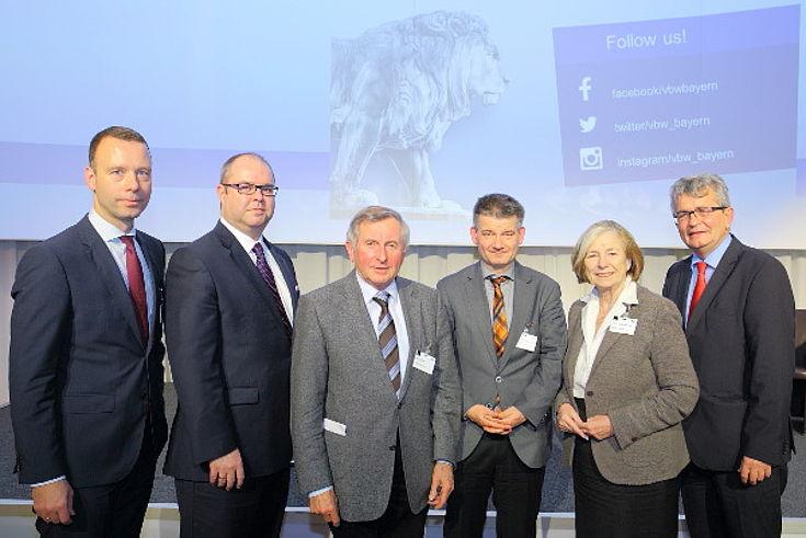 Sven Afhüppe, Christian Joh. Tipecska, Alois Glück, Johannes Wallacher, Ursula Männle, Betram Brossardt