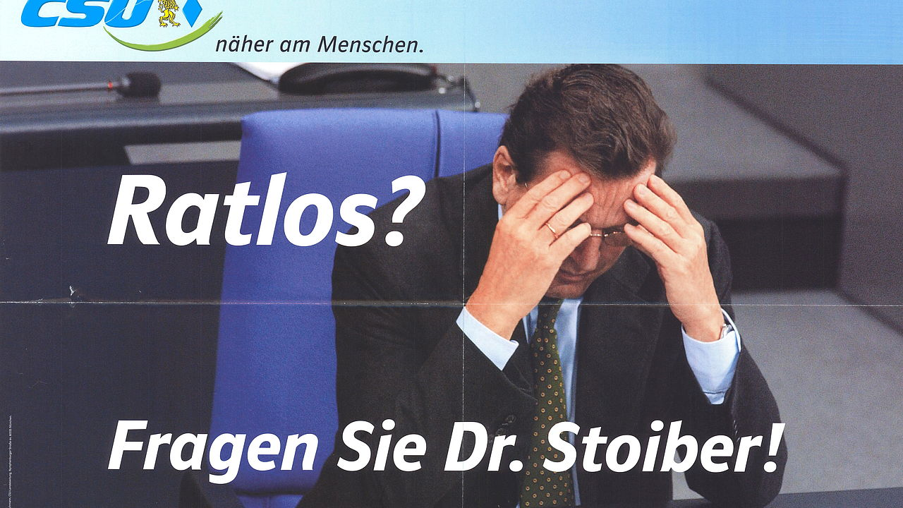 Ratlos? Fragen Sie Dr. Stoiber!