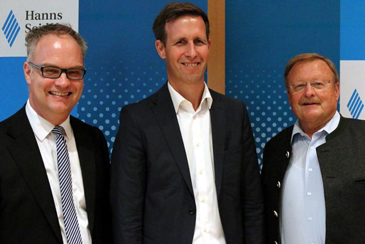 Karl Heinz Keil (HSS), Mirko Hornung (Bauhaus Luftfahrt), Manfred Rothkopf (DVWG)