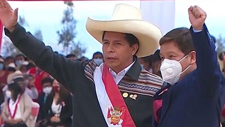 Ende Juli 2021 wurde Pedro Castillo als 64. Präsident von Peru vereidigt.