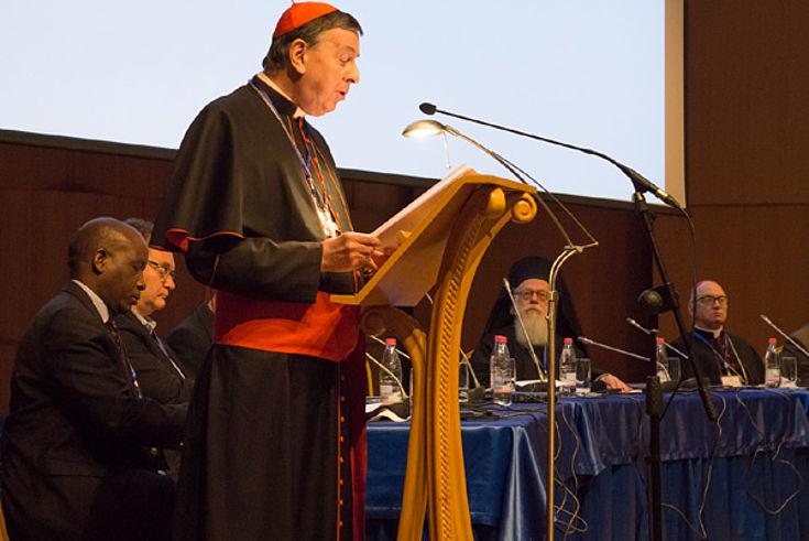 Kurt Kardinal Koch überbrachte eine Botschaft von Papst Franziskus.