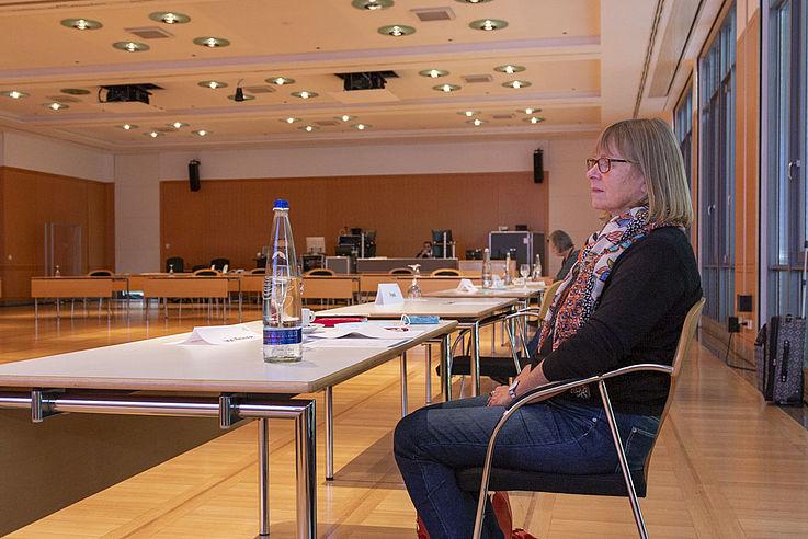 """""""Aufgrund von Corona verzeichnen wir ein Drittel weniger Spenden"""" (Juliane von Krause, Geschäftsführerin von STOP dem Frauenhandel und Jadwiga sowie Leiterin von Terre des Femmes München)"""