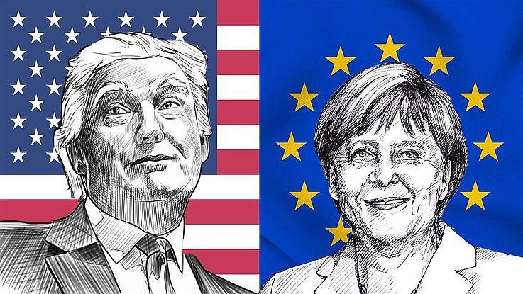 Zur USA-Reise der deutschen Bundeskanzlerin