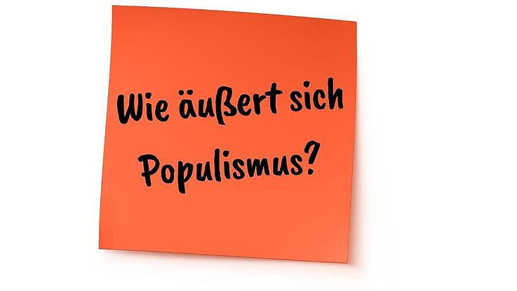 Definition Populismus