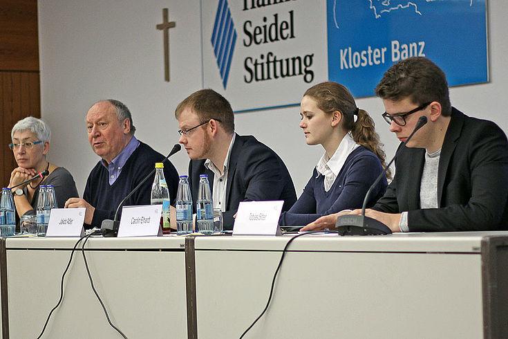 Auf Einladung der HSS wurde im Kloster Banz darüber debattiert wie gut das deutsche Gesundheitssystem auf die vielen Schutzsuchenden vorbereitet ist.