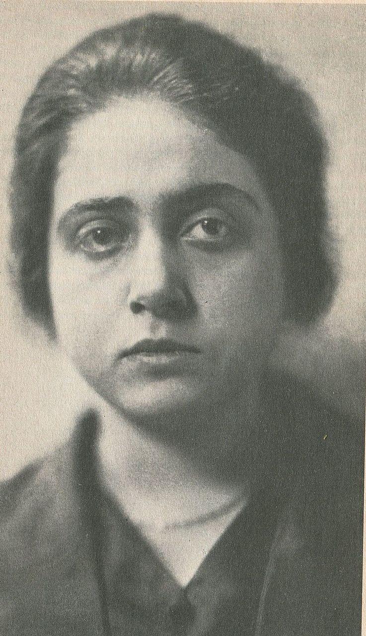 Porträt von Therese Giehse (um 1919)