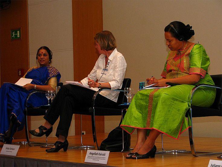 Ranjana Kumari, Viola Schenz, Angellah Kairuki