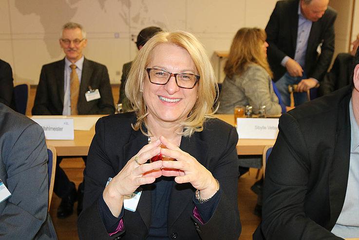 Regionalbeauftragte für Oberfranken und Kandidatin für das Europaparlament Sabine Habla