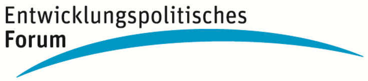 """Das Logo der neuen Veranstaltungsreihe der Hanns-Seidel-Stiftung """"Entwicklungspolitisches Forum"""""""