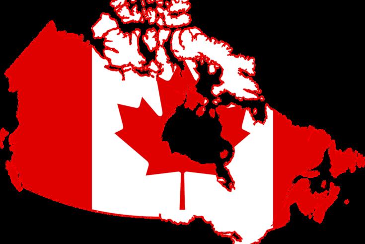 Karte Kanadas