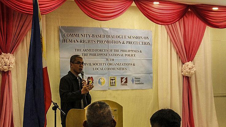 Workshop des Projektpartners Alternative Law Group über Menschenrechte